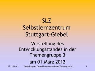 SLZ Selbstlernzentrum Stuttgart-Giebel