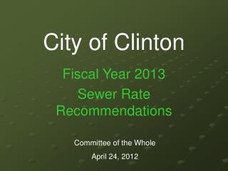 City of Clinton