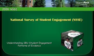 Understanding SRU Student Engagement Patterns of Evidence