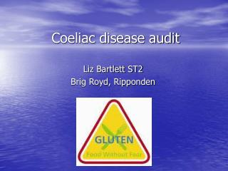 Coeliac disease audit