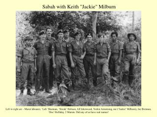 Sabah with Keith