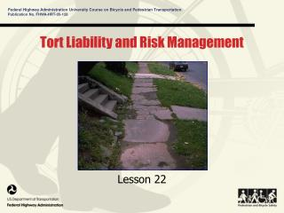 Tort Liability and Risk Management