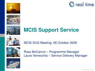 MCIS Support Service