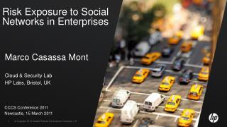 Risk Exposure to Social Networks in Enterprises