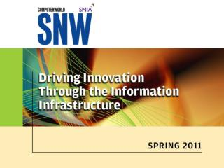 Fibre Channel  Driving Storage Innovation, Speed and Convergence