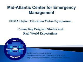 Mid-Atlantic Center for Emergency Management