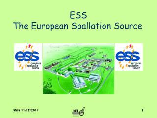 ESS The European Spallation Source