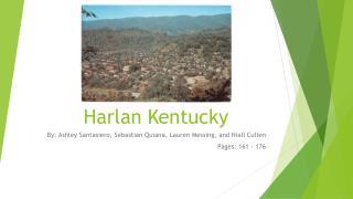 Harlan Kentucky