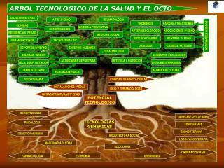 ARBOL TECNOLOGICO DE LA SALUD Y EL OCIO