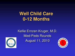Well Child Care 0-12 Months