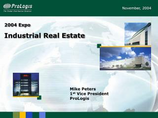 2004 Expo Industrial Real Estate