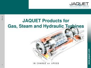 JAQUET  Products for  Gas, Steam and Hydraulic Turbines