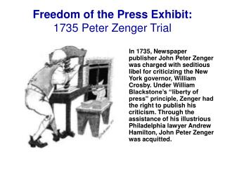 Freedom of the Press Exhibit: