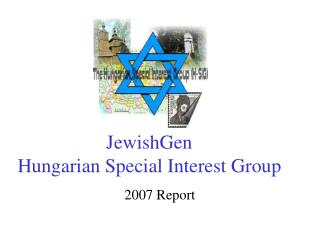 JewishGen Hungarian Special Interest Group