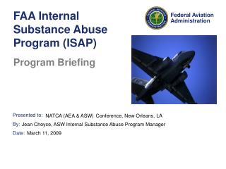 FAA Internal Substance Abuse Program (ISAP)