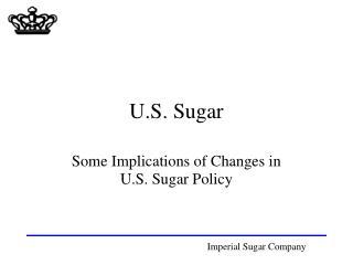 U.S. Sugar