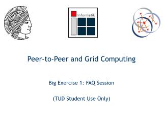 Peer-to-Peer and Grid Computing