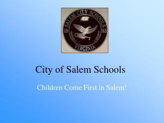 City of Salem Schools