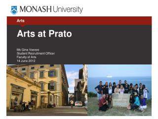 Arts at Prato