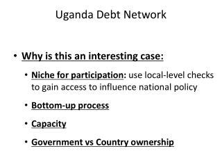 Uganda Debt Network
