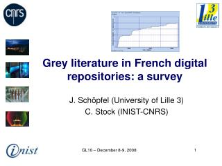 Grey literature in French digital repositories: a survey
