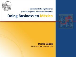 Doing  Business en  M�xico