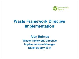 Waste Framework Directive Implementation