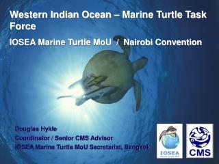 Douglas Hykle Coordinator / Senior CMS Advisor IOSEA Marine Turtle MoU Secretariat, Bangkok