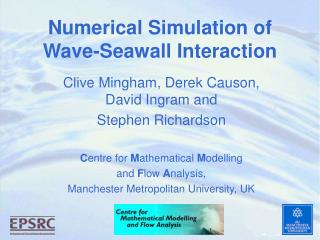 Numerical Simulation of  Wave-Seawall Interaction