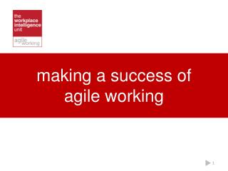 making a success of agile working
