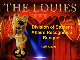 Division of Student Affairs Recognition Banquet