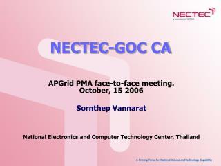 NECTEC-GOC CA