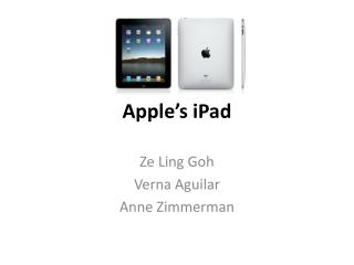 Apple�s iPad