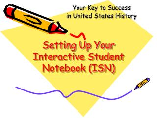 Setting Up Your Interactive Student  Notebook (ISN)