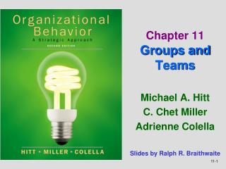 Chapter 11 Groups and Teams