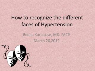 How to recognize the different faces of Hypertension