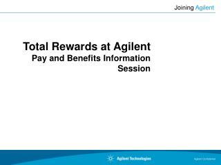 Joining  Agilent