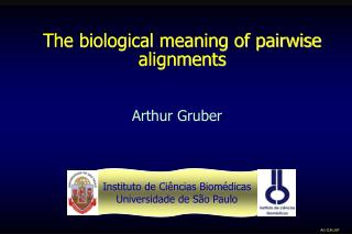 The biological meaning of pairwise alignments