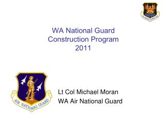 WA National Guard Construction Program 2011