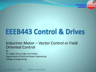 EEEB443 Control & Drives