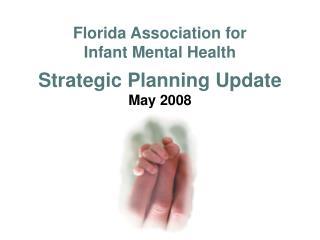 Florida Association for  Infant Mental Health Strategic Planning Update May 2008