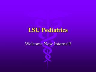 LSU Pediatrics