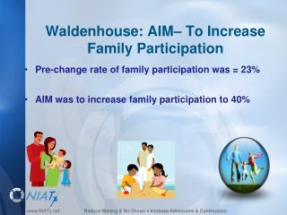 Waldenhouse: AIM– To Increase Family Participation
