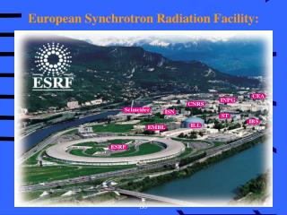European Synchrotron Radiation Facility: