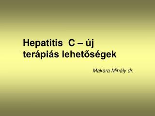 Makara Mihály dr.