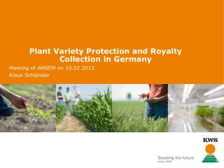 Plant Variety Protection and Royalty Collection in Germany