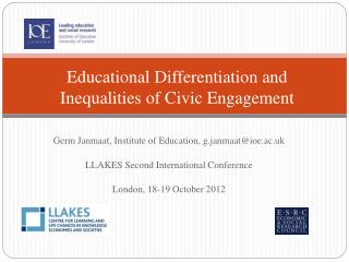 Educational Differentiation and Inequalities of Civic Engagement