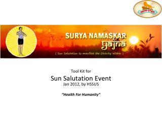Surya Namaskar 101