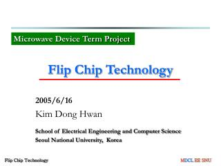 Flip Chip Technology