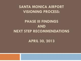Visioning Process: Overview